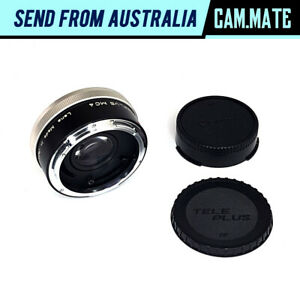 Kenko CFE Teleplus MC4 2x Teleconverter Converter Lens for Canon FD P6808