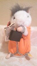 Gemmy Dancing Hamster CEO Plush Prisoner Plays Love Of Money Song 2003 With Tag