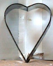 "SMALL HEART Bridal Shower VALENTINE Cookie Cutter METAL 2.25"" x 1.75 x 0.5  deep"