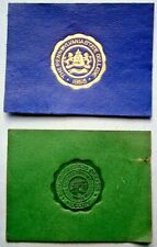New listing The Pennsylvania State College Leather Patch Seal Cigarette Premium + Other