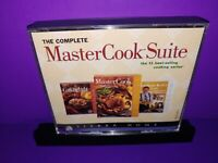 The Complete Master Cook Suite PC CD ROM 3-Disc Set B251/B470