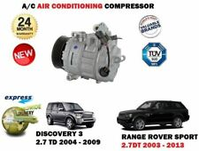 FOR LAND ROVER DISCOVERY 3 RANGE ROVER SPORT 2.7 DT 2004-> AC AIR COMPRESSOR