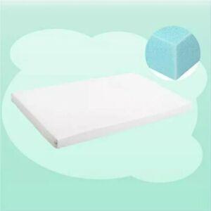 rezi Crib Memory Foam Mattress Topper, Toddler Crib with Removable Waterproof
