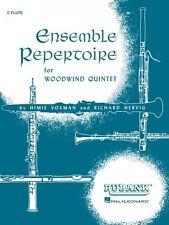 Ensemble Repertoire for Woodwind Quintet Flute Ensemble Collection New 004474040