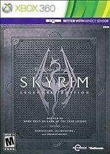 The Elder Scrolls V: Skyrim -- Legendary Edition (Microsoft Xbox 360, 2013)