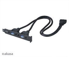Akasa CBUB17-40BK USB 3.0 Internal Adapter Cable