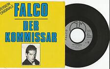 """FALCO """"Der Kommissar/Helden von Heute""""  French 7"""" Single 1982 A & M Records"""