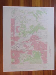 Spokane NE Washington 1975 Original Vintage USGS Topo Map