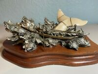 Vintage and Rare Chilmark Fine Pewter Sculpture – 1985 Moby Dick #2203 of 2500