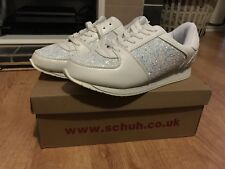 Schuh Women's white Trainers Size 6
