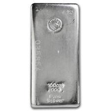 100 oz Silver Bar - Perth Mint - SKU #82246