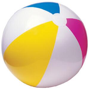 Intex aufblasbarer Wasserball Glossy 40cm Strandball bunt aufblasbar Poolball