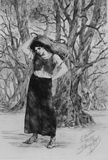 FELICIEN ROPS - Nineteenth Century Belgian Artist