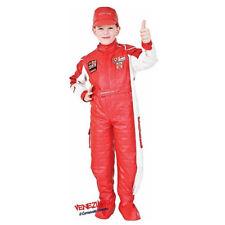 PILOTA di Formula Ragazzi Tuta Cars Bambini Fancy Dress Costume Outfit 3-5 anni