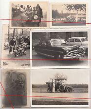 20x Foto Antiguo Automoción Moto Coche de Carreras Deportes antes & por 1945