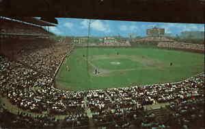 Chicago Cubs Wrigley Field Baseball Stadium Dexter Press Postcard
