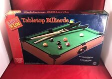 Just For Fun Table-Top Billiards Game Table Fun Times For Home House Party
