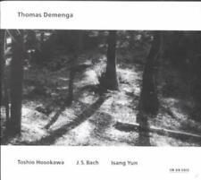 HOSOKAWA, BACH, YUN: CELLO NEW CD