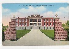 MK&T Railway Employees Hospital Denison Texas USA Vintage Postcard 264a