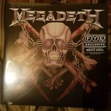 Megadeth Killing Is My Business NEW white vinyl 2-LP limited to 500 copies FYE