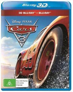 CARS 3 : NEW Disney Blu-Ray 3D + 2D