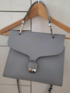 Coccinelle Tasche Leder Grau