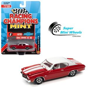 Racing Champions Mint - 1:64 - 1970 Chevelle SS 396 (Cranberry Red)
