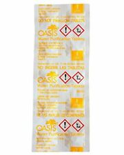 Genuine Oasis Water Purifying Tablets British Army Ration Pack Military 10