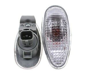Pair Side Fender Lamp Light Repeater for Mitsubishi PAJERO MONTERO Shogun Sport