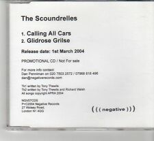 (FR633) The Scoundrelles, Calling All Cars - 2004 DJ CD