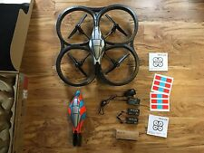 Parrot AR Drone Quadracopter - Original charger and 2 batteries for parts!