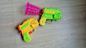 SET gift idea MODERN boy girl KID'S unisex color toy children's GUNS  PLASTIC