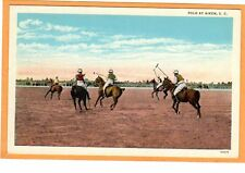 Sports Postcard - Polo at Aiken South Carolina