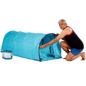 2L Para Aliviar Dolores Musculares Cabina para sauna Caja de ba/ño para sauna Blanc Control remoto Temperatura Cara del cuerpo adelgazante Reducir El Estr/és Port/átil Sauna de Vapor SPA