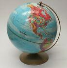 Replogle World Nation Series Raised Relief Globe Metal Base Soviet Union USA