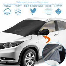 Car Vehicle Windshield Snow Sun Cover Ice Frost Removal Mirror Protector SUV Set