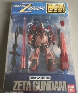 Bandai Mobile Suit Zeta Char's Z Gundam Limited Edition MSIA MS in Action Figure