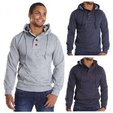 Markenlose unifarbene Herren-Kapuzenpullover & -Sweats aus Baumwollmischung