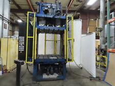 40 Ton 4 Post Hydraulic Blanking Trim Press 4 Wide X 3 Deep X 47 Open