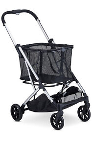 Joovy Boot Lightweight Shopping Cart with Reusable, Removable Shopping Bag with