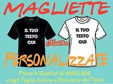 Magliette Personalizzate Masliba Testo Logo Grafica
