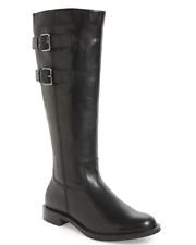 ECCO Shape 25 Women's Black Tall Buckle Boot Sz 36 EUR 2622 *