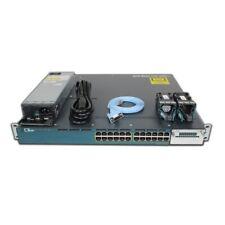 Cisco Catalyst 3560X 24P 1GbE 435W PoE+ Lan Base Switch Ws-C3560X-24P-L