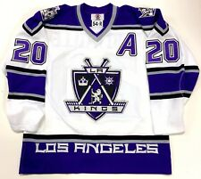LUC ROBITAILLE LOS ANGELES KINGS ORIGINAL 1998 STARTER AUTHENTIC WHITE JERSEY 54
