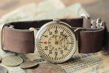 "POBEDA watch ""Shturmanskie"" Russian Soviet USSR + leather strap style by Nato /S"