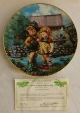 Hummel Hello Down There Little Companions Danbury Mint Plate Lt1136