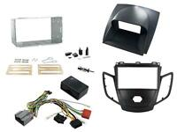 Connects2 Ford Fiesta Mk7 08-10 Double Din Stereo Fitting Kit Black / Grey