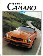 Chevrolet Camaro Berlinetta Sport Rally Sport Z28 1979-80 Original USA Brochure