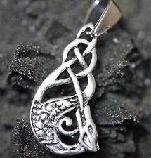 keltischer Schutzdrache 925er Sterlingsilber Anhänger Mittelalter Druiden Magie