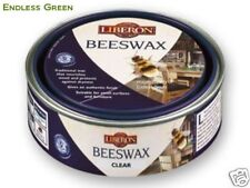 Liberon Clear Beeswax - Traditional  wax polish for wood furniture - 150ml CLEAR